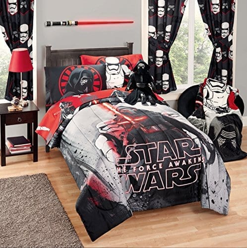 Disney Star Wars 5 Piece Kids Bed In A Bag Full Bedding