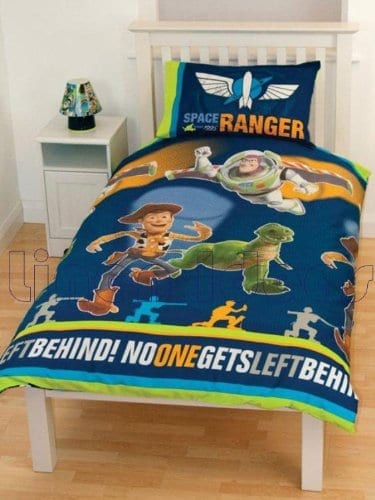 Disney Toy Story E Rotary Single Bed Duvet Quilt Cover Set