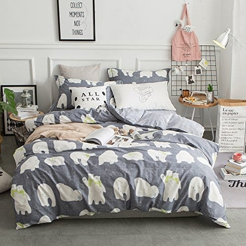 giraffe covers shop cartoon home duvet lelva kitchen s childrens baby cotton cover queen full bedding blankets kids twin set size children